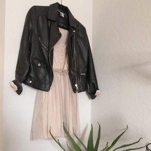Zara TRF• Tulle Blush Mini Dress•